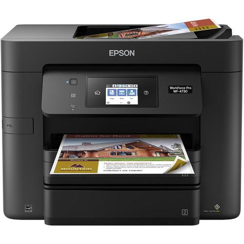 Epson WorkForce Pro WF-4730 All-in-One Inkjet Printer