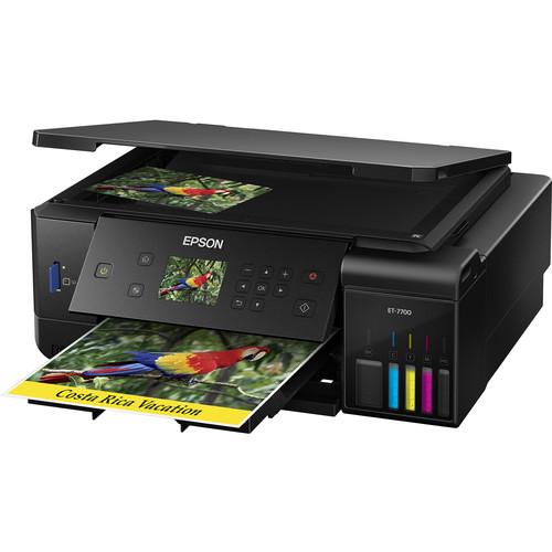 Epson Expression Premium ET-7700 EcoTank All-In-One Inkjet Printer