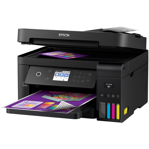 Epson WorkForce ET-3750 EcoTank All-In-One Inkjet Printer