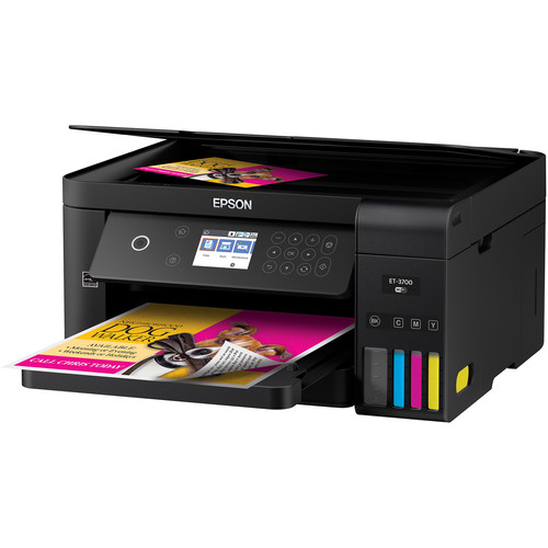 Epson Expression ET-3700 EcoTank All-In-One Inkjet Printer
