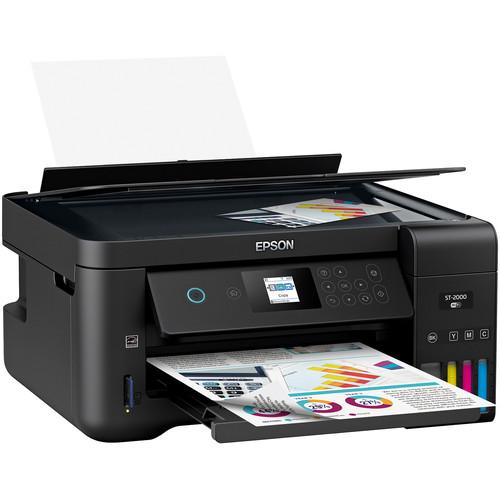 Epson WorkForce ST-2000 Color MFP Supertank Printer