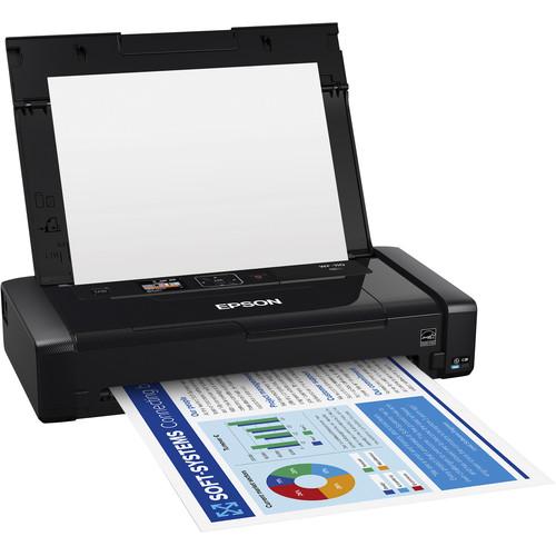 Epson WorkForce WF-110 Wireless Mobile Inkjet Printer