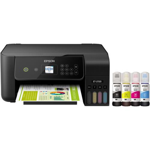 Epson EcoTank ET-2720 All-In-One Inkjet Printer (Black)