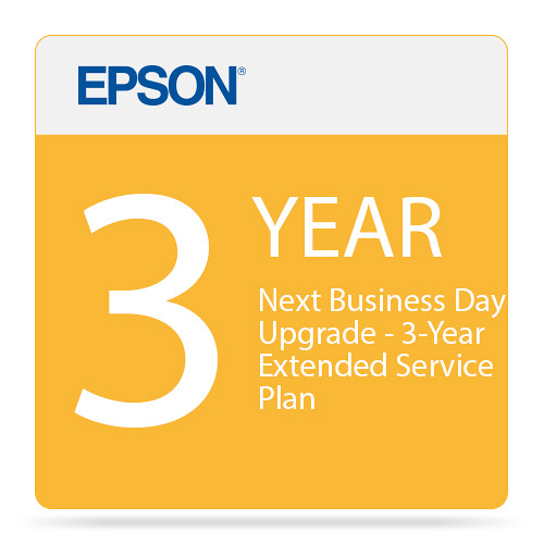 Epson Next Business Day Shipping Upgrade - 3-Year Extended Service Plan