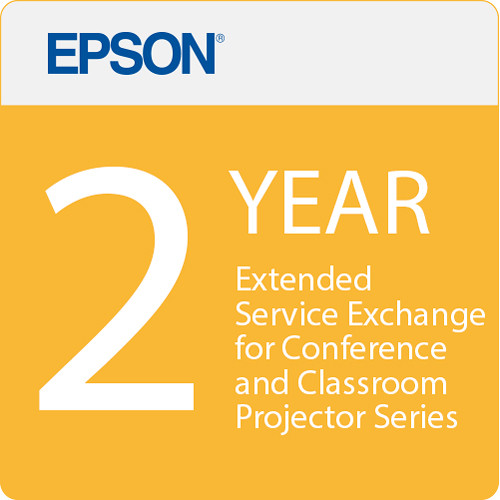 Epson 2 Year Projector Extended Service Exchange for Conference And Classroom Series