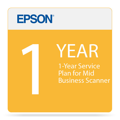 Epson 1-Year Service Plan for Mid Business Scanner