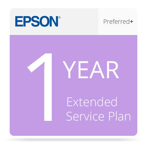 Epson 1-Year Preferred Plus Extended Service Plan for Select Inkjet Printers