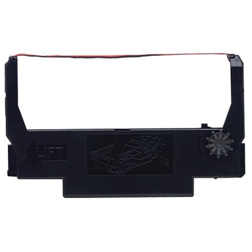Epson ERC-38BR Black/Red Fabric Ribbon
