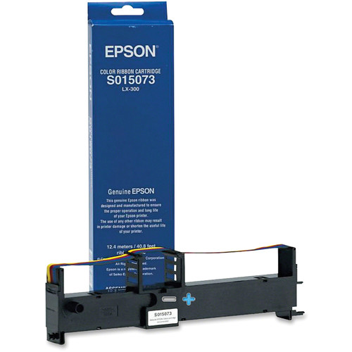 Epson S015073 Color Ribbon Cartridge for LX-300