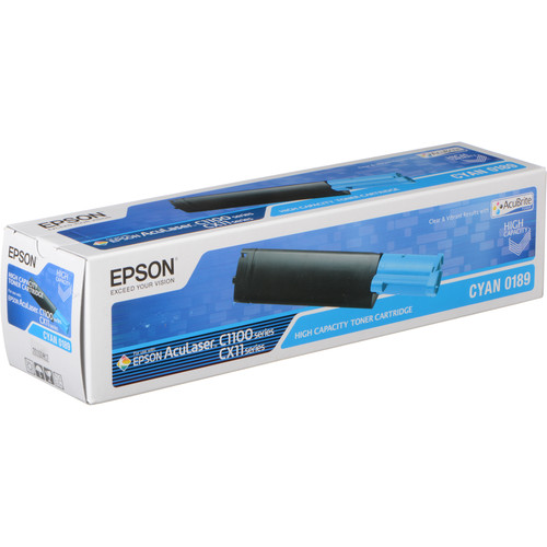 Epson S050189 High Capacity Cyan Toner Cartridge
