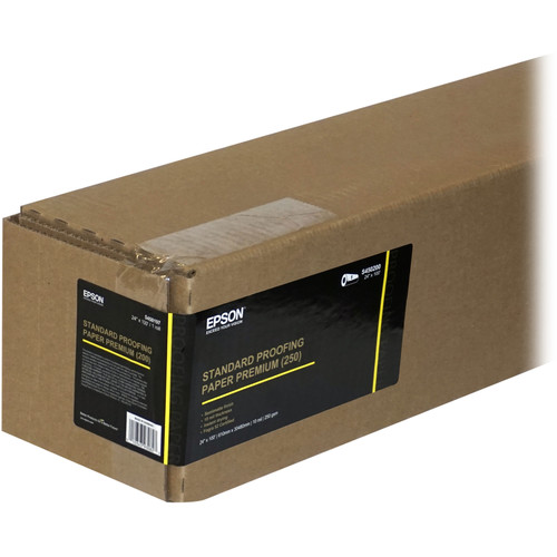 "Epson Standard Proofing Paper Premium (250) (13 x 19"", 100 Sheets)"