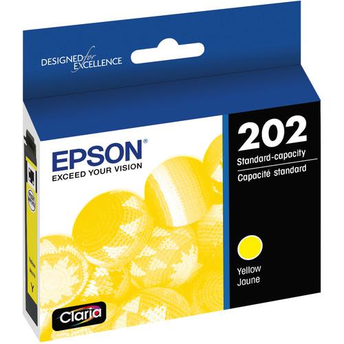 Epson Claria 202 Standard-Capacity Ink Cartridge (Yellow)