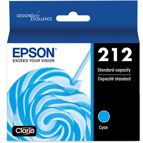 Epson Claria 212 Standard-Capacity Cyan Ink Cartridge