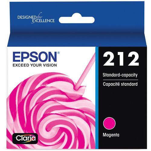 Epson Claria 212 Standard-Capacity Magenta Ink Cartridge