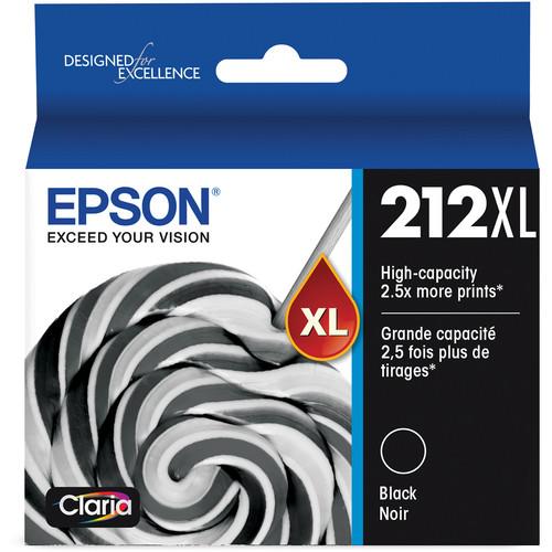Epson Claria 212XL High-Capacity Black Ink Cartridge