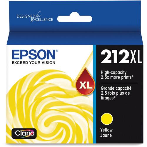 Epson Claria 212XL High-Capacity Yellow Ink Cartridge