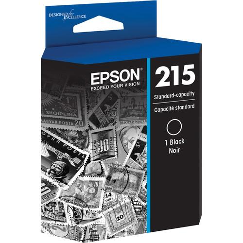 Epson T215 DuraBrite Ultra Black Standard Capacity Ink Cartridge