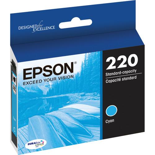 Epson T220 DURABrite Ultra Cyan Ink Cartridge
