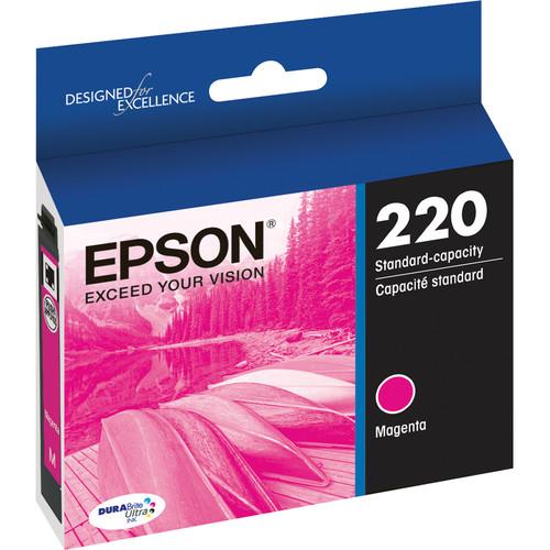 Epson T220 DURABrite Ultra Magenta Ink Cartridge