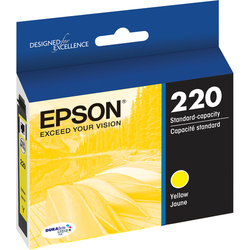 Epson T220 DURABrite Ultra Yellow Ink Cartridge