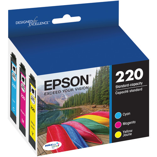 Epson T220 DURABrite Ultra Color Ink Cartridge Multi Pack
