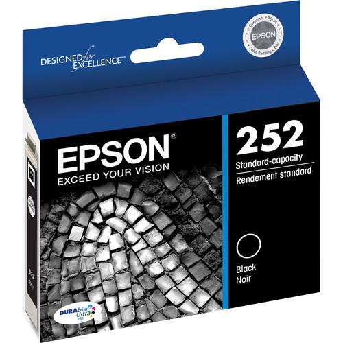 Epson T252 DURABrite Ultra Standard-Capacity Black Ink Cartridge