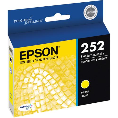 Epson T252 DURABrite Ultra Standard-Capacity Yellow Ink Cartridge