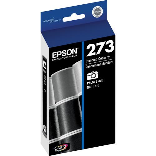 Epson Claria Premium 273 Standard-Capacity Photo Black Ink Cartridge