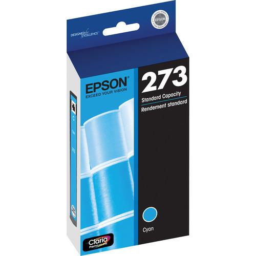 Epson Claria Premium 273 Standard-Capacity Cyan Ink Cartridge