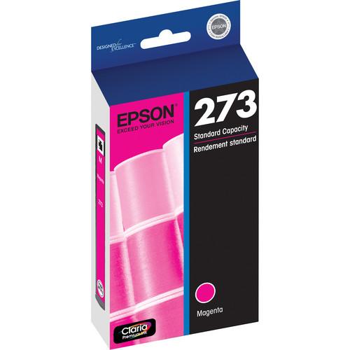 Epson Claria Premium 273 Standard-Capacity Magenta Ink Cartridge