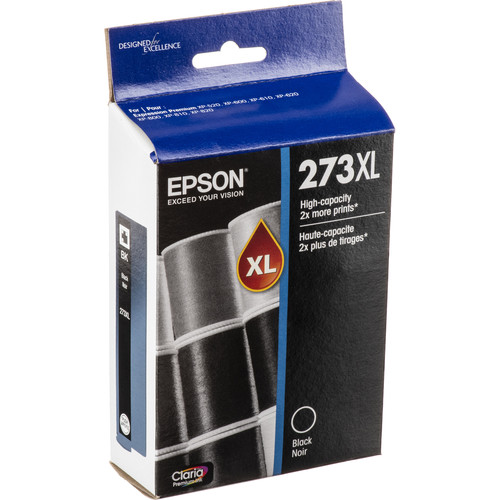 Epson Claria Premium 273XL High-Capacity Black Ink Cartridge
