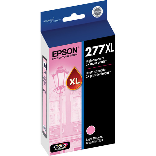 Epson 277XL High-Capacity Light Magenta Ink Cartridge