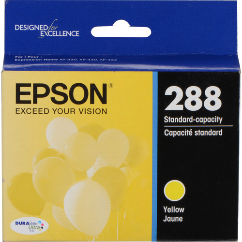 Epson T288420 DURABrite Ultra Yellow Ink Cartridge
