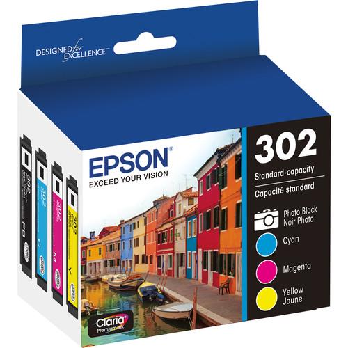 Epson Claria Premium 302 Standard-Capacity Ink Multipack
