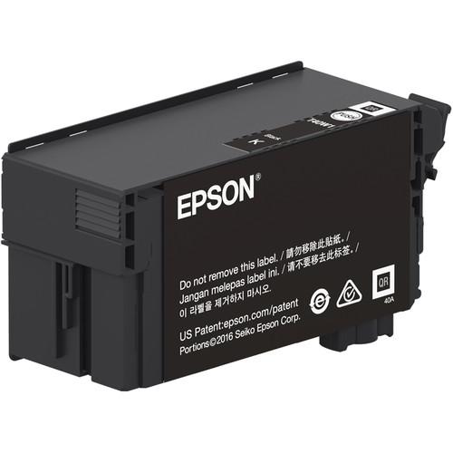 Epson UltraChrome XD2 T40W Black High-Capacity Ink Cartridge (80mL)