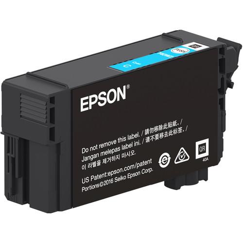 Epson UltraChrome XD2 T40W Cyan High-Capacity Ink Cartridge (50mL)