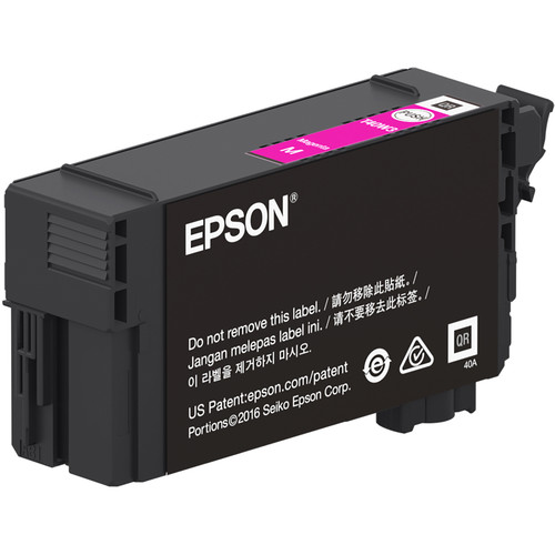 Epson UltraChrome XD2 T40W Magenta High-Capacity Ink Cartridge (50mL)