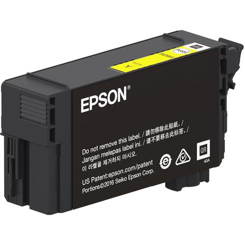 Epson UltraChrome XD2 T40W Yellow High-Capacity Ink Cartridge (50mL)