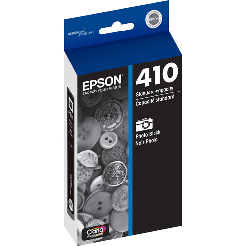 Epson Claria Premium Standard-Capacity Photo Black Ink Cartridge