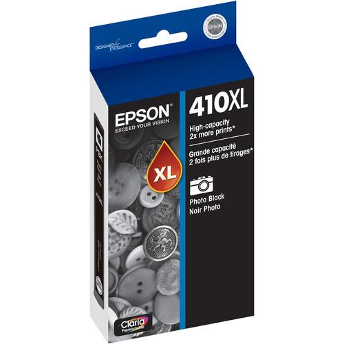 Epson Claria Premium High-Capacity Photo Black Ink Cartridge