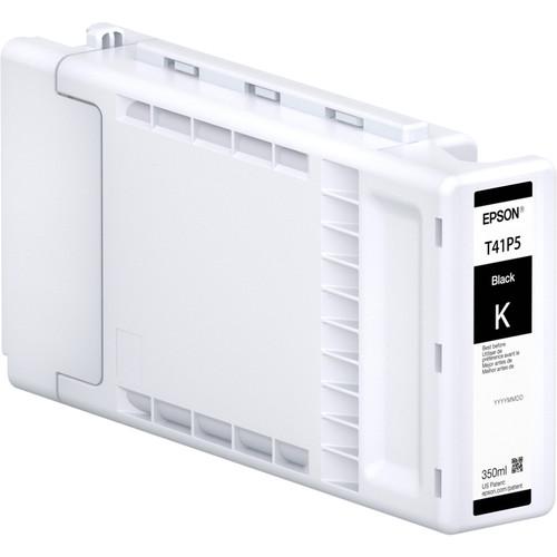 Epson UltraChrome XD2 T41P High-Capacity Black Ink Cartridge (350mL)