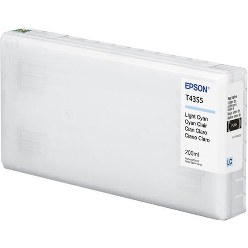 Epson UltraChrome D6r-S Light Cyan Ink Cartridge