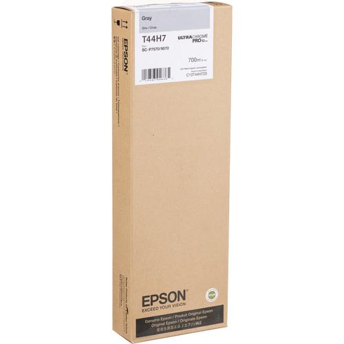 Epson UltraChrome PRO12 Gray Ink Cartridge (700mL)