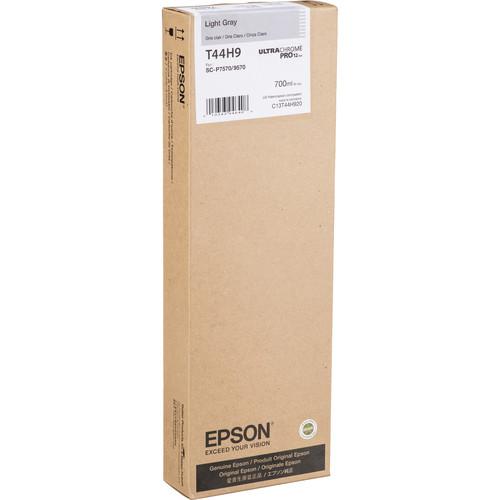 Epson UltraChrome PRO12 Light Gray Ink Cartridge (700mL)