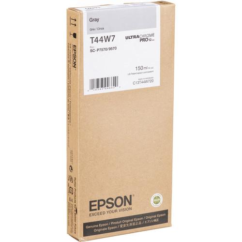 Epson UltraChrome PRO12 Gray Ink Cartridge (150mL)