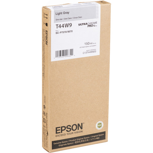 Epson UltraChrome PRO12 Light Gray Ink Cartridge (150mL)