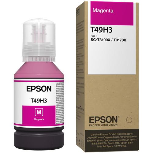 Epson T49H Magenta Ink Bottle (140mL)