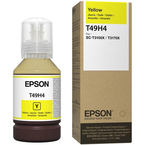 Epson T49H Yellow Ink Bottle (140mL)