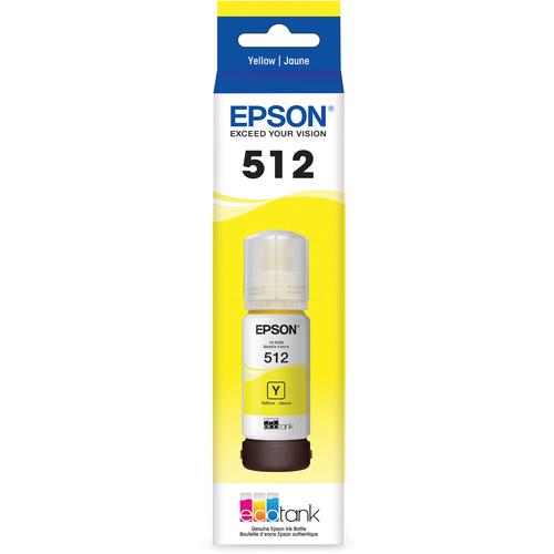 Epson T512 Yellow EcoTank Ink Bottle (70mL)