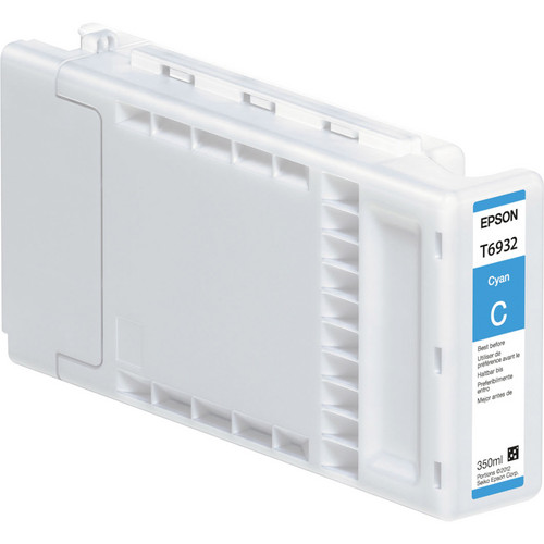 Epson UltraChrome XD Cyan Ink Cartridge for SureColor T-Series (350 ml)